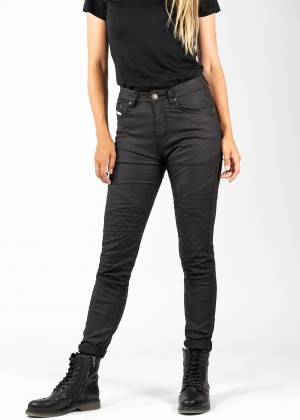 Betty Biker Jeggings Black