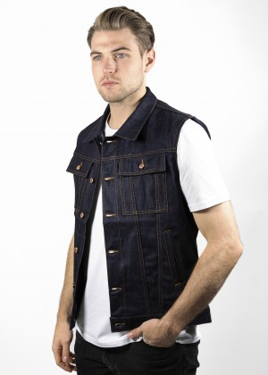 John Doe Denim Raw Vest JDW3003