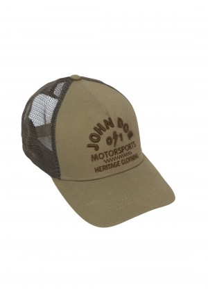 JOHN DOE CAP - Trucker Hat Brown Heritage