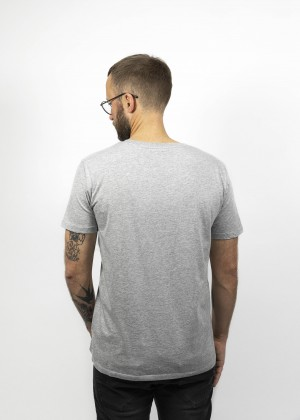 T-Shirt Ride The Pony Grey JDS6029