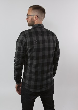 Motoshirt Grey/Black