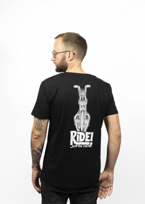 T-Shirt Ride Black JDS6026
