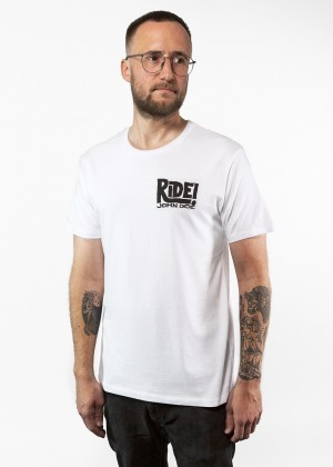 T-Shirt Ride White JDS6027