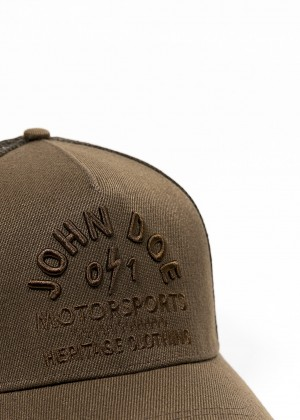 JOHN DOE CAP - Trucker Hat Brown Heritage