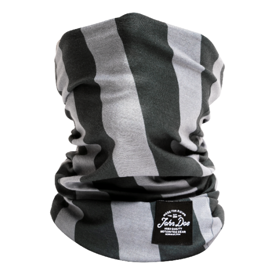 John Doe Tube Stripes Black Grey
