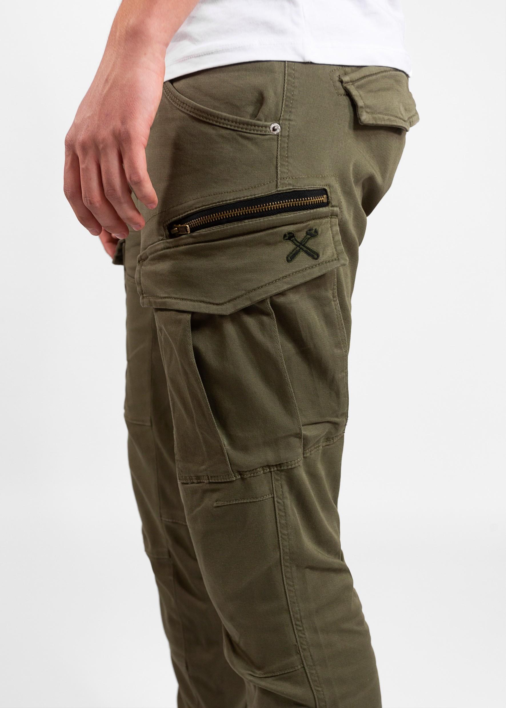 John Doe Cargo Stroker Camel-XTM Pantaloni Cargo Stroker Uomo