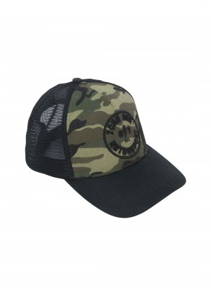 JOHN DOE CAP - Trucker Hat Camou 0/1