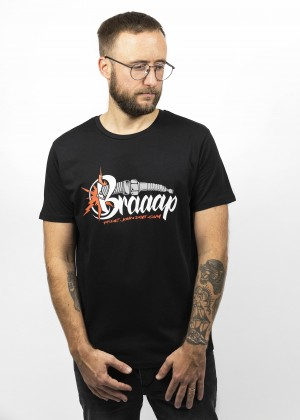 T-Shirt Braap Black
