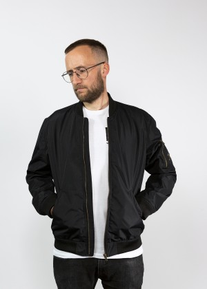 Flight Jacket Black