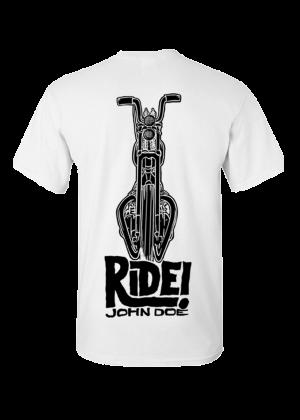 T-Shirt Ride White JDS6027