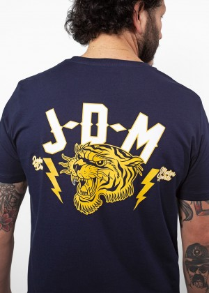 T-Shirt Tiger Navy