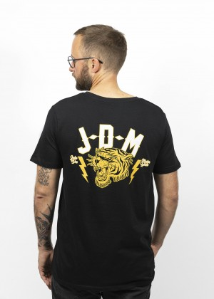 T-Shirt Tiger Black