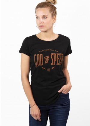 T-Shirt God of Speed JDS6401 Womens