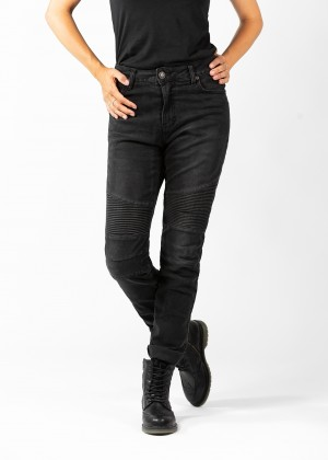 Betty Biker Jeans Black Used