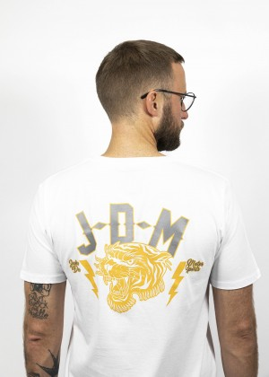 T-Shirt Tiger White