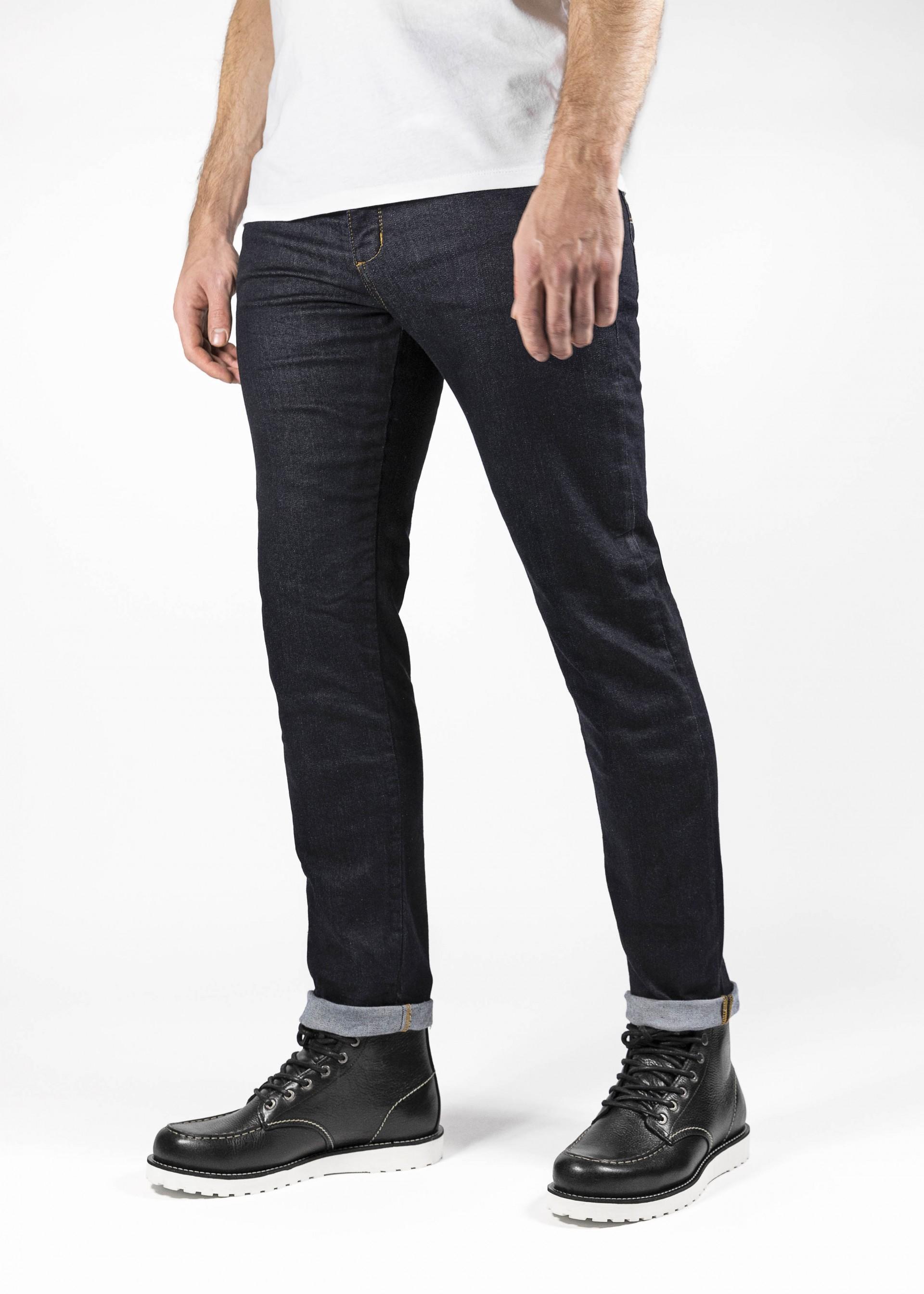Atmungsaktiv John Doe Ironehead Motorradhose mit Kevlar Einsetzbare Protektoren XTM Denim Jeans mit Stretch Motorrad Jeans