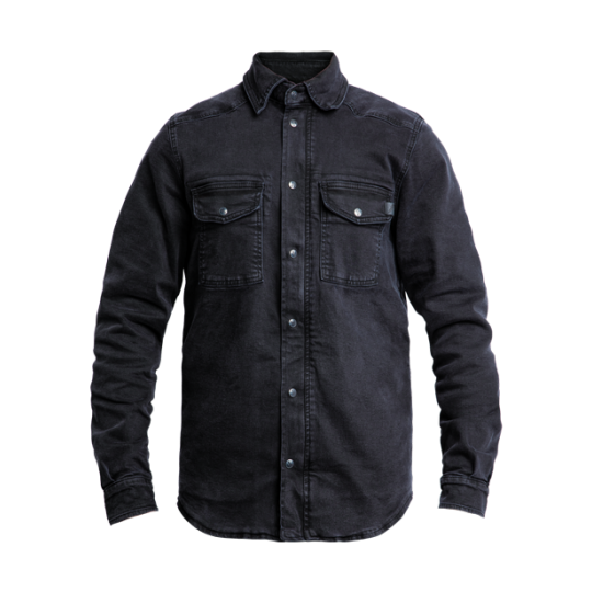 Motoshirt Denim Black