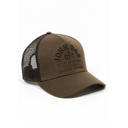 Trucker Hat Brown Heritage- one size