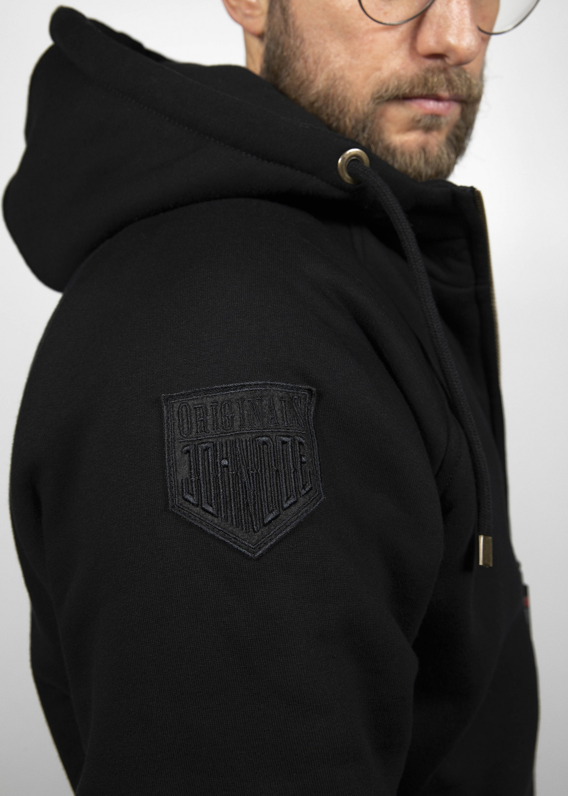 Details about  /John Doe Hoodie With XTM Aramid Fibre Black